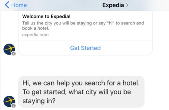 expedia-bot-facebook-messenger