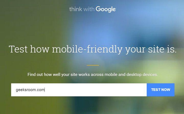 Google introduce nueva herramienta para probar sitios móviles y de escritorio, similar a Google Pagespeed Insights