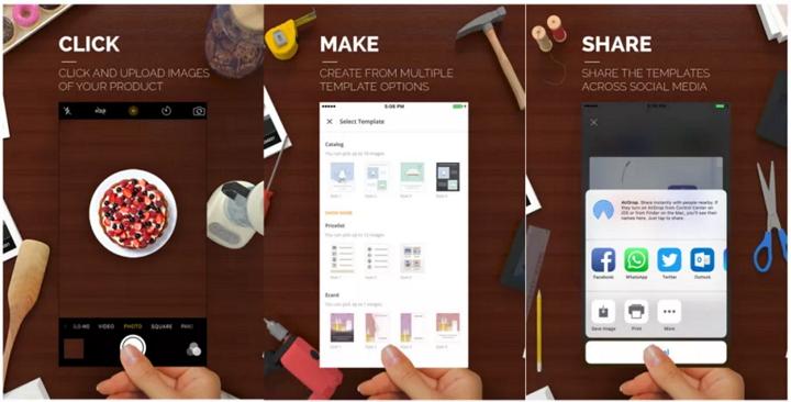 Microsoft Sprightly para crear catálogos, eCards y más, ahora también en iOS