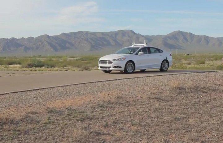 Ford Vehículo Autónomo