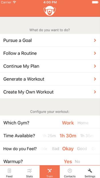Optimize Fitness