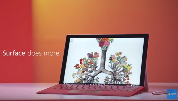 Microsoft otra vez se burla de Apple y esta vez comparando Surface Pro 4 y Macbook Air