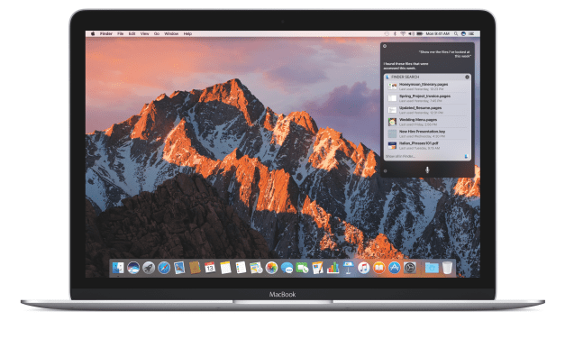 macOS Sierra ya esta disponible para la descarga