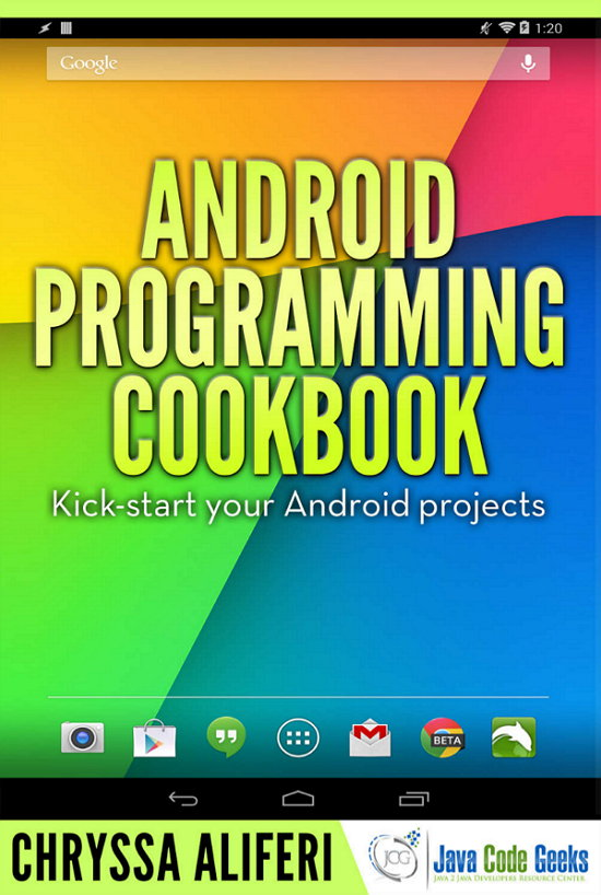 Android Programming Cookbook