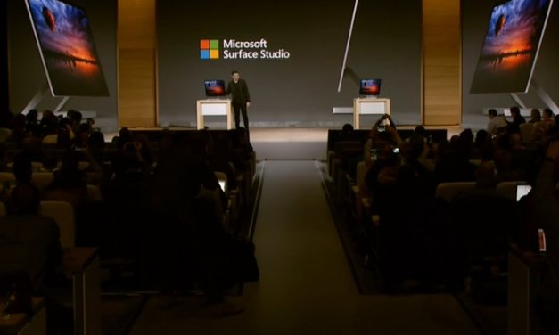 Presentan el Microsoft Surface Studio, un ordenador de escritorio para creativos, con pantalla de 28 pulgadas
