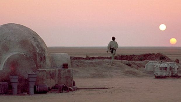 Star Wars Tatooine two suns