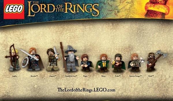 LOTR minifigures LEGO