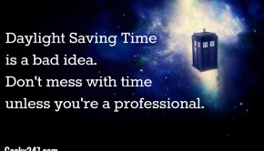 daylight saving doctor who