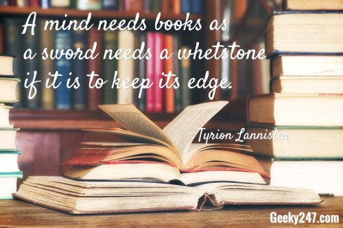 a mind needs books