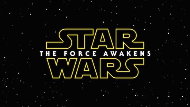 Star Wars Force Awakens title