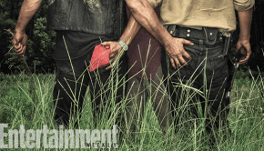 Norman Reedus Andrew Lincoln butt grab