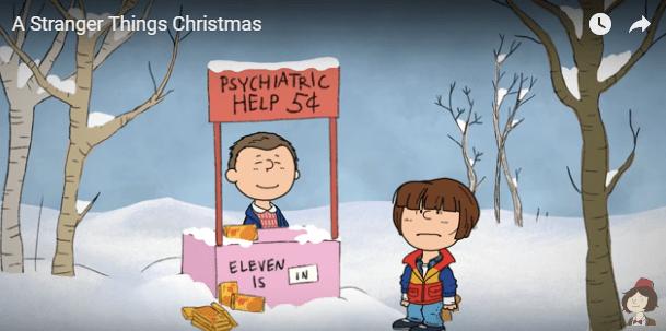stranger things christmas eleven