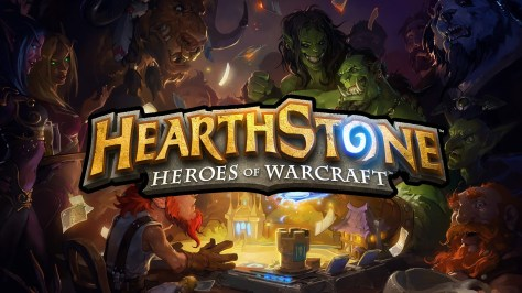 Hearthstone Heroes Of Warcraft Title Banner