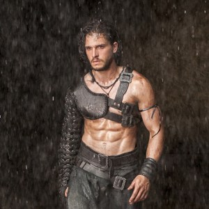 Kit Harington in Pompeii.