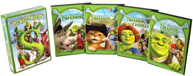 13 Shrek - 3.5 B$, 5 Film