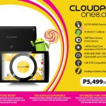 Cloudfone launches lollipop tablet: CloudPad One Series 6.95 and 8.0