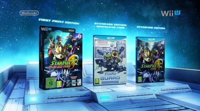 Fecha de lanzamiento de 'Star Fox Zero' y 'Star Fox Guard'