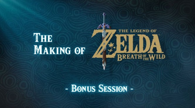 Mostrado el vídeo bonus del Making of de 'The Legend of Zelda: Breath of the Wild'