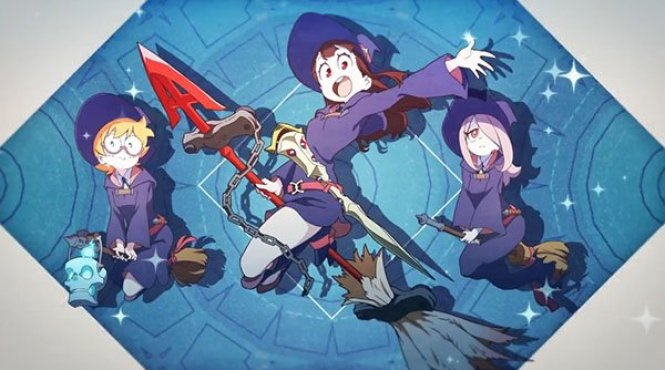 Opening de 'Little Witch Academia: Chamber of Time'