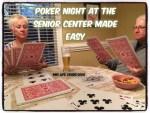Poker night at the senior center