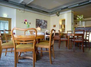 Im Café Tabori, Februar 2015