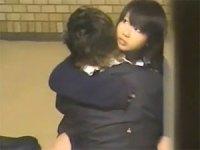 【盗撮】超可愛い制服美少女と彼氏の放課後の絡みあい!