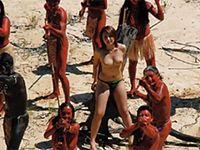 文明から隔絶された未知の部族への接触を試みた女のSEXドキュメント