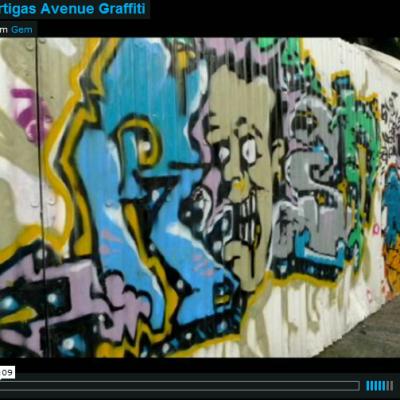 Ortigas Avenue graffiti