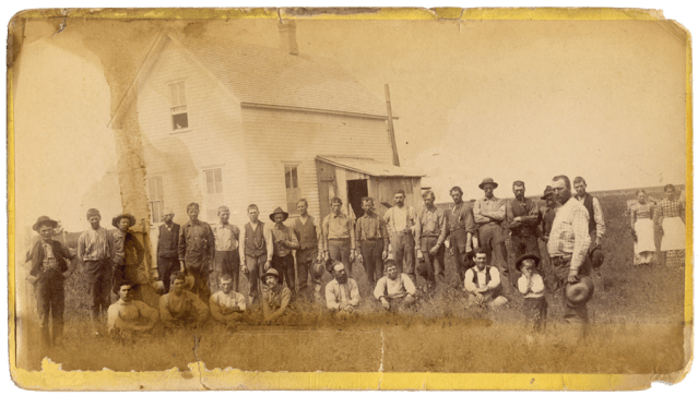 Dalrymple Farm workers ca. 1870