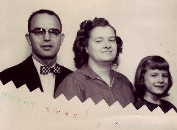 Winford, Virginia (Dunham) and Louise Tate