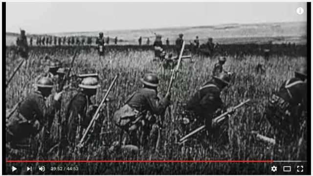 """Image from the WWI documentary, """"The Great War: The Somme."""""""