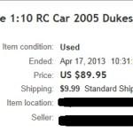 Ebay Gen Lee Auction 4