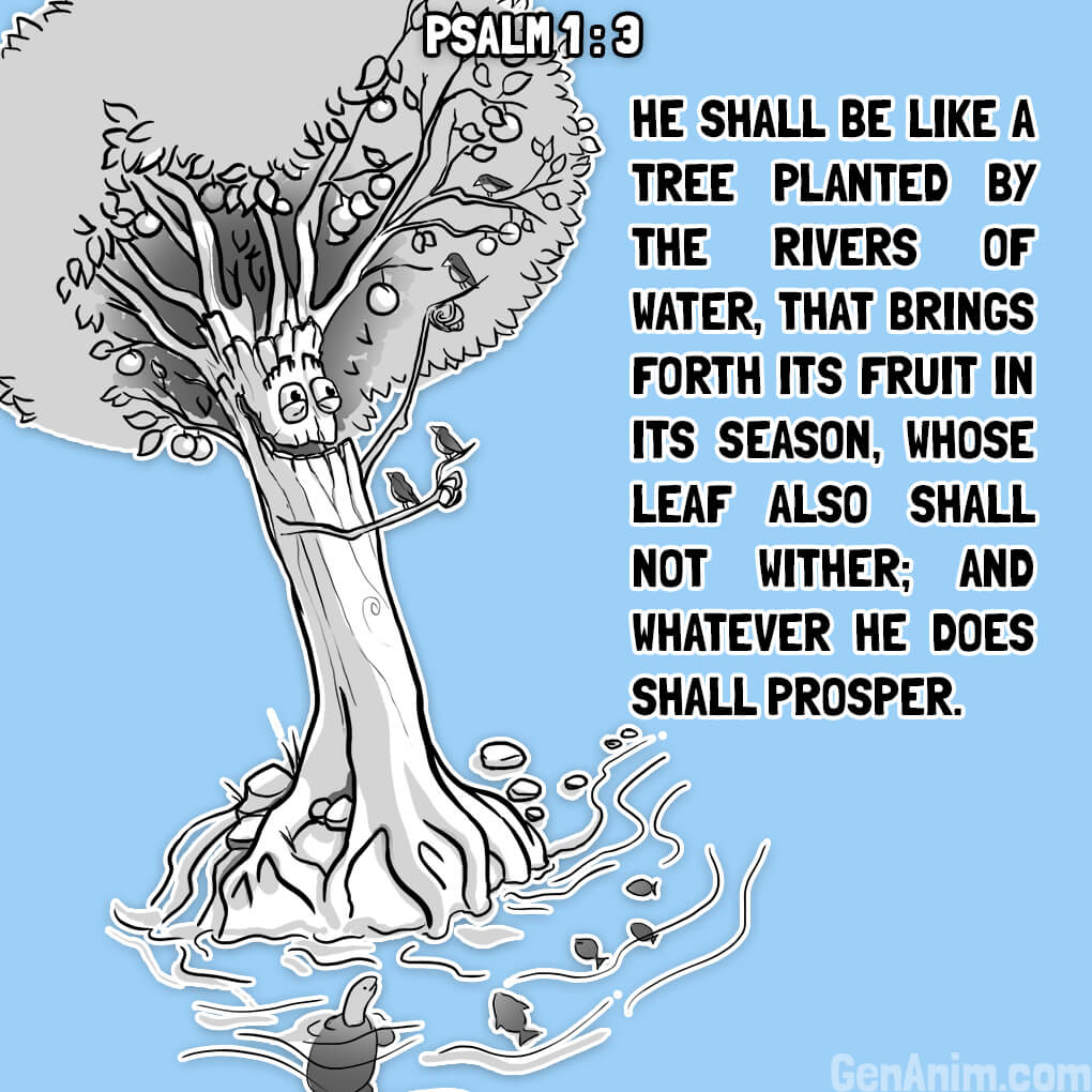 Psalm 1:3 Illustrated