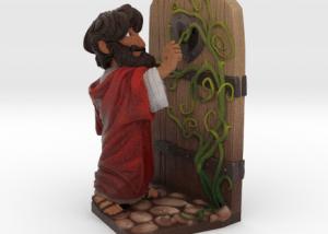 jesus at hearts door image A