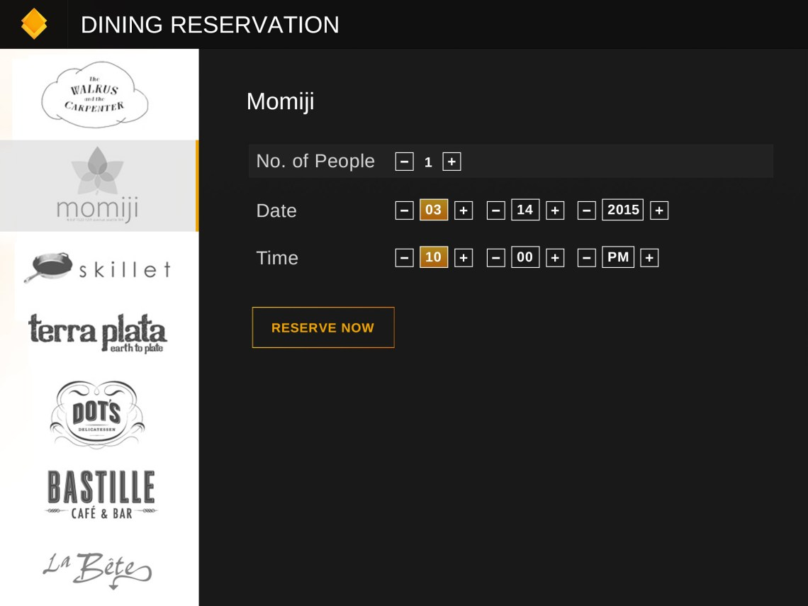 dining-reservation