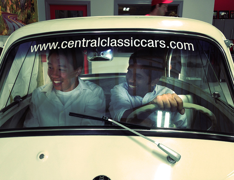Lawrence and Shreyas try out a BMW Isetta