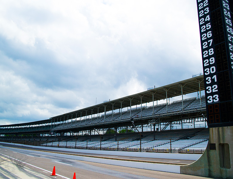 The Genius Garage has made it to the Indianapolis Motor Speedway