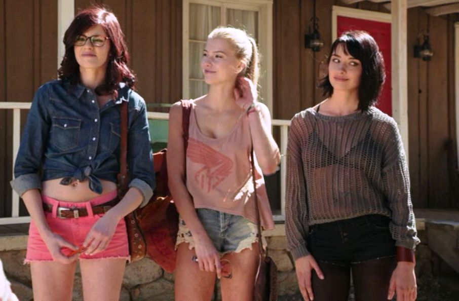 Zombeavers 2014 genre snaps for The girl in the cabin
