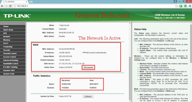 how to set up password on wifi router