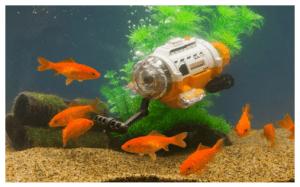 赤外線コントロール潜水艦-サブマリーナカメラ