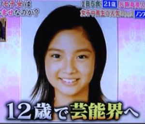 12歳で芸能界へ入った新川優愛