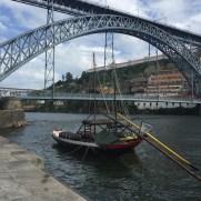 Le pont Luis 1er, vu de la Ribeira