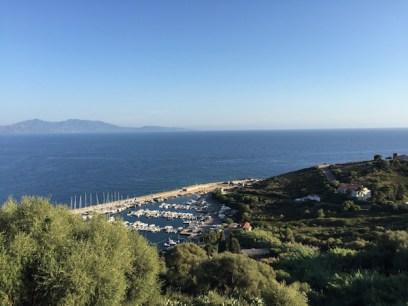 Le port de Cargese pour le départ des excursions maritimes