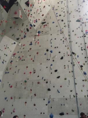 Salle Karma mur escalade