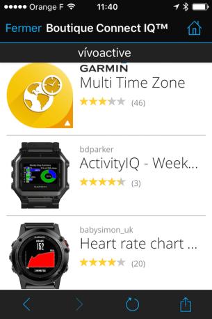 Test-vivoactive-garmin-app