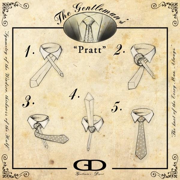 How to Tie a Pratt