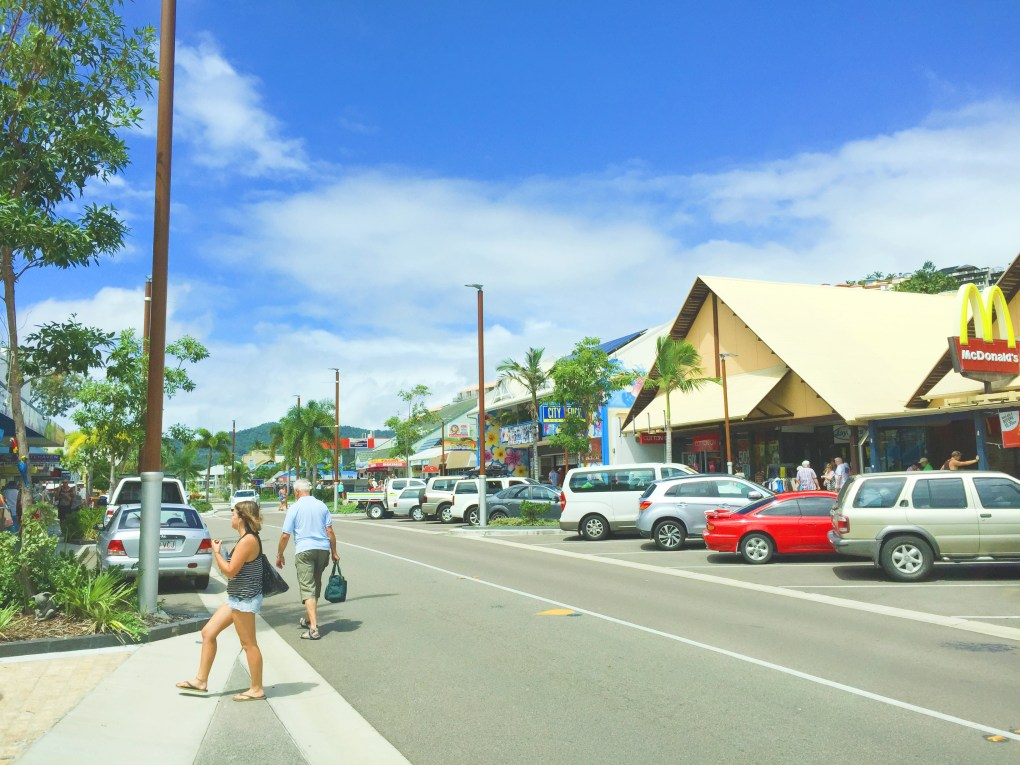 Airlie Beach. Skip the town and head out to the islands!