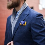 Style Rules: How to fold a pocket square 3 ways.