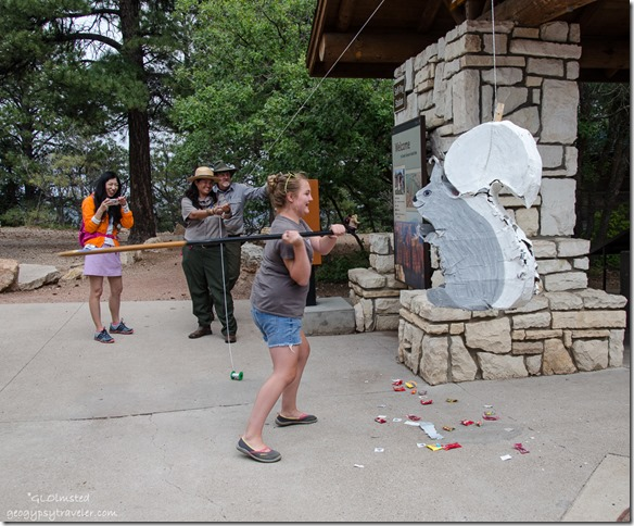 Breaking pinata North Rim Grand Canyon National Park Arizona