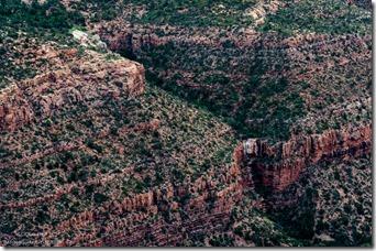 Pouroff below Rainbow Rim Crazy Jug Point Kaibab National Forest Arizona